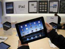 Apple sells 1 million iPads, outdoing first iPhone (AP)