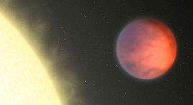 Astronomers find weird, warm spot on an exoplanet