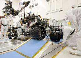 Curiosity is NASA's new ramp roller