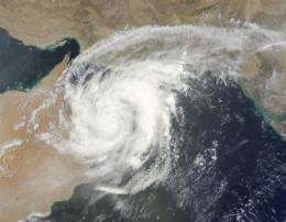 Cyclone Phet weakens after Oman landfall, headed to Pakistan