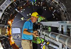 Detecting proton collisions at unprecedented levels of energy