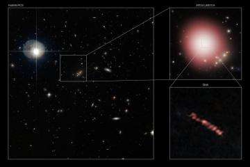 Early galaxy went through 'teenage growth spurt,' scientists say