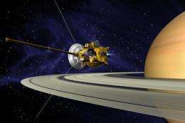 Engineers assessing Cassini