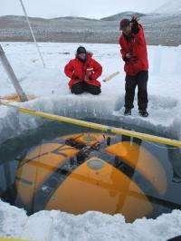Exploring Beneath Antarctic Ice