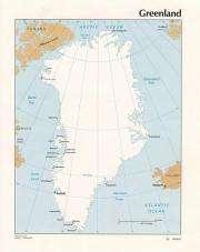 Greenland ice sheet losing mass on northwest coast