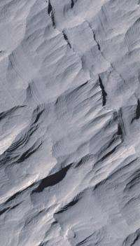 Layers in a Mars Crater Record a History of Changes