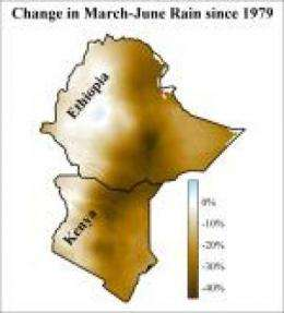 More frequent drought likely in eastern Africa