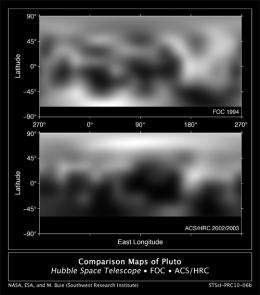 New Hubble Maps of Pluto Show Su