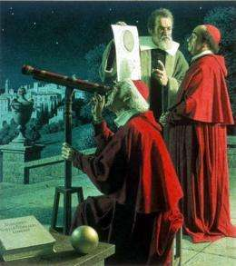 Revelations about Galileo, Bruno, and aliens