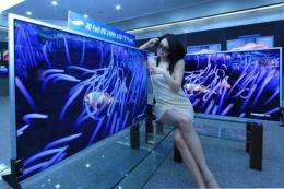 Samsung Begins Mass Producing 3D TV Panels