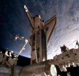 Spacewalking day for astronauts at space station (AP)