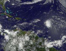System 92L's chances for tropical development extremely diminished