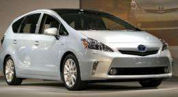 The new Toyota Prius makes its debut in Detroit