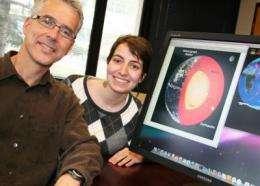Scientists probe Earth's core