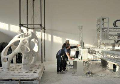 3D printer could build moon bases