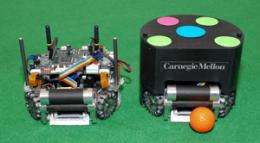 Carnegie Mellon's soccer-playing robots get creative with physics-based planning