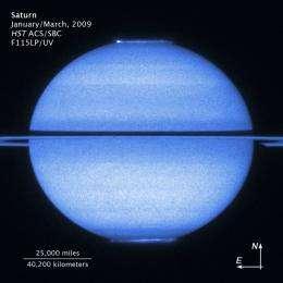 Hubble Captures Saturn's Double Light Show