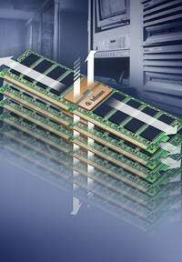 Infineon Demonstrates Leadership in Next Generation Server Memory Modules; Complements Industry´s First Test Chip for Fully