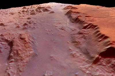 Eos Chasma, part of Valles Marineris