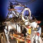 NASA's Mars Reconnaissance Orbiter, slated for launch in August 2005, is in final assembly phase at Lockheed Martin Space System