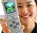 SAMSUNG Unveils a 3D Game Phone with Joystick