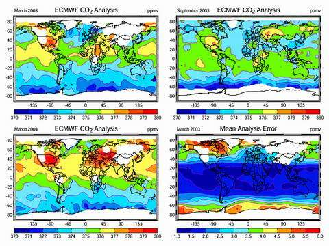 Space measurements of carbon offer clearer view of Earth's climate future 2