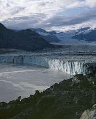 Columbia Glacier, September 2005.