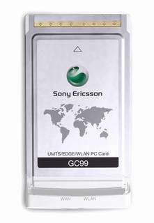 Sony Ericsson's new PC Card combines 3G broadband with Wi-Fi