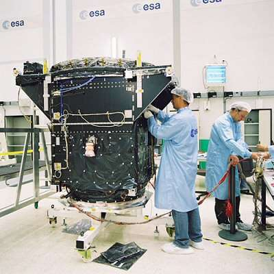 First Galileo Satellite