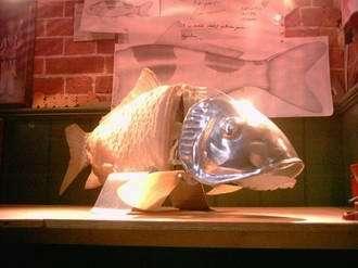 Robotic fish in action at Aquarium