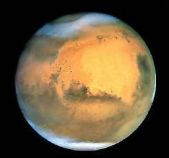 Earth-orbiting Hubble Space Telescope shows Mars