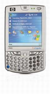 HP, Cingular launch mobile pocket PC