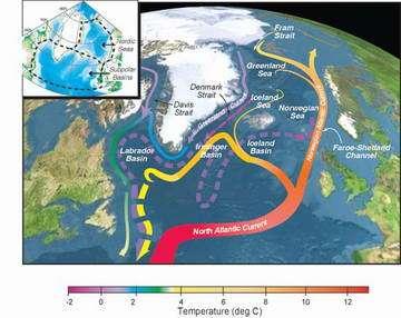 Atlantic Ocean getting more fresh water in recent decades