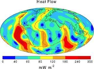 Earth's conductive heat