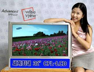 Samsung Develops World's Largest (32'') LCD Panel Without a Color Filter