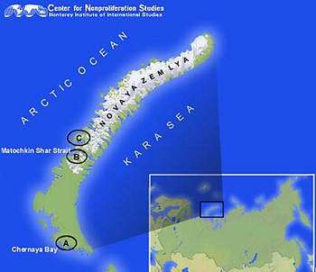 Map courtesy of the Center for Nonproliferation Studies.
