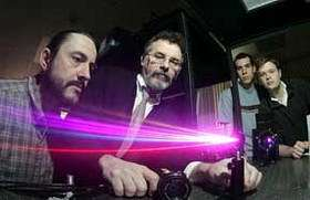 ultrafast laser beams
