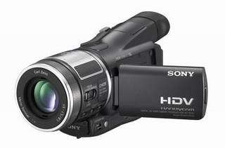 Sony's World's Smallest HD Consumer Camcorder
