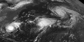 Hurricanes Ophelia, Nate, and Maria