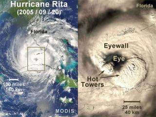 NASA Looks at Hurricane Cloud Tops for Windy Clues