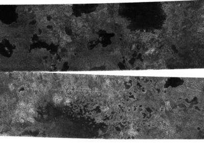 Cassini finds evidence for hydrocarbon lakes on Titan