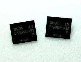 Samsung Develops 2Gb Flash Memory Using 60nm Process
