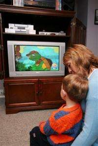 TV found to be a painkiller for children (AP)