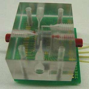 Building a hand-held lab-on-a-chip to simplify blood tests