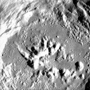 Crater Zucchius seen by SMART-1