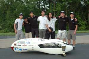 UBC Engineers Create Vehicle that Travels from Vancouver to Halifax on a Gallon of Gas