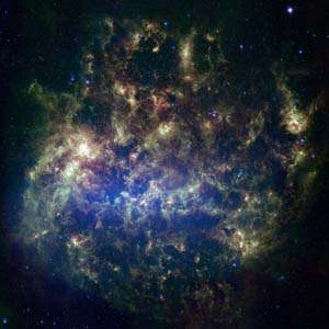 Astronomers provide fresh peek at nearby galaxy