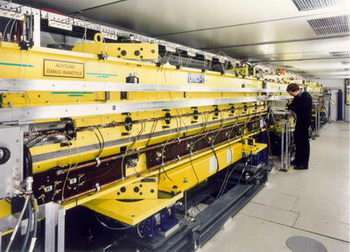Building the free-electron laser