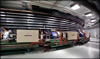 Accumulator ring commissioning latest step for spallation neutron source
