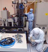 Research Goes Online in Birck Nanotechnology Center 'Cleanroom'